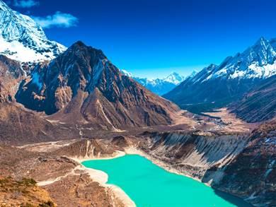 Natale in Nepal: Himalaya