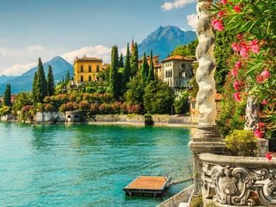 Pasqua al Lago di Como