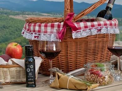 Picnic single nel Chianti con Degustazione Vino