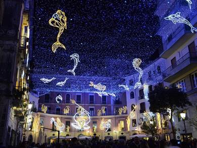 Weekend luci d'artista a Salerno